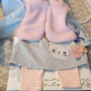 Little Lass Baby 3 piece set